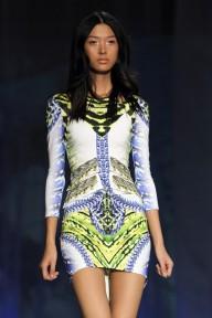 Le lime light : Roberto Cavalli, Spring 2013 (Season Trend High Fashion Inspiration)