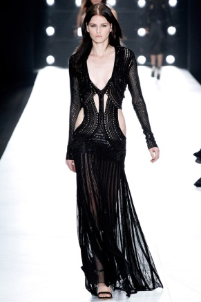 Sexy on Black:Roberto Cavalli, Spring 2013 (Season Trend High Fashion Inspiration)