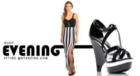 Get ready for the night--with us. www.stanzino.com
