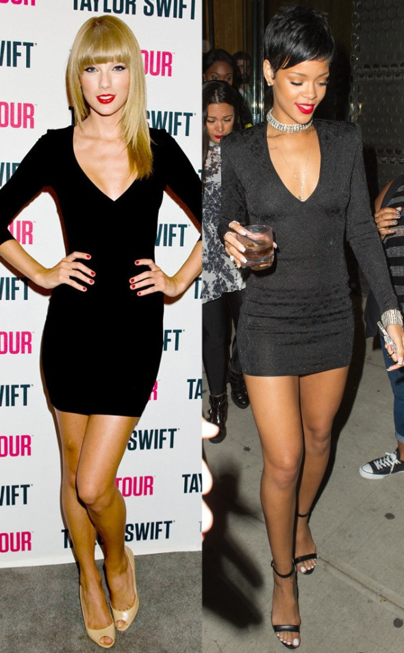 Rihanna vs. Taylor Swift.