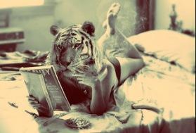 cool,tiger,feminism,woman,smoking,cat-f1928b910e44e86436d65ec21930558d_h