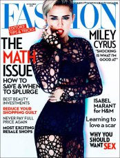 Miley's the baddest. She's my numero uno for fashion 'killas' right now. What do you think about her style evolution?!