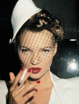 Roxanne Lowitt Photo. How edgy--and of course Kate Moss is looking bad as ever, OF COURSE.