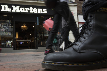 For some Doc Martins: a company that which is in the fashion news. Ay, ay ay. (Have that Robin Thicke song in my head.)