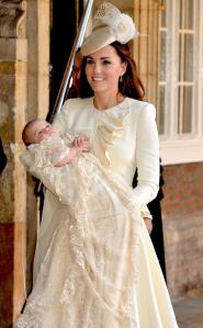 This kid, has a better baptism outfit than most women have for their weddings. Ahh, ROYALTY.