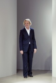 Jil Sander who has recently confirmed that she is stepping down from her fashion label.