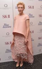 Cate Blanchette in Balenciaga. Pastel hues are my favorite this Fall Season. And she pulls this off impeccably.