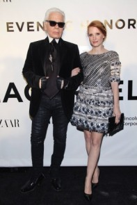 Casually celebrating Karl Lagerfeld couldn't be anything short of ultra-chic and ultra-fabulous.