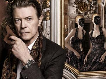 David Bowie for Louis Vuitton. Incredible mash up, right?