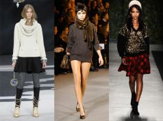 Cozy and Chic is the New this season. Layering is sexy too, you know ladies!