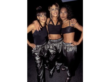 TLC mixed sex, hip hop and 90s fashion better than any girl group from the decade.