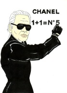 After watching 'The Return' a film about Chanel by Karl Lagerfeld, I just had to pay I'm a little homage, naturally.
