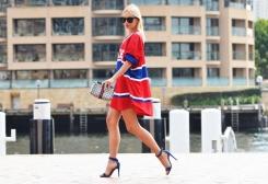 Oversized jersey dress, yes please!