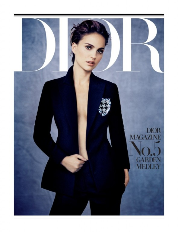 Natalie Portman by Paolo Roversi for Dior Magazine